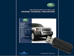Original Technical Publications USB - For Discovery 2005-2009, Discovery 3 - Land Rover