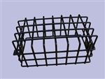 Rear Black Plastic Coated Lamp Guard - Mesh Style - Sold as Single - For Defender and Series