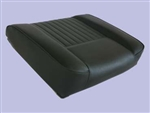 Deluxe Outer Seat Base for Series Land Rover in Black Vinyl