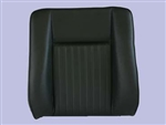 Deluxe Outer Seat Back for Series Land Rover in Black Vinyl