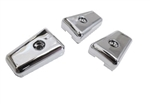 3x DEF 83-07 CHROME HEATER CONTROL KNOBS
