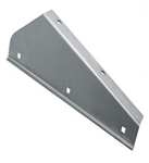 Stainless Steel Front LH Mudflap Bracket Def 83-16 (S)