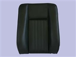 Deluxe Centre Seat Back for Series Land Rover in Black Vinyl