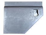 Galvanised Left Hand Early 110 Second Row Split Door Bottom For Land Rover SeriesNO LOCK HOLE