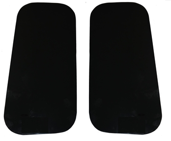Pair Tinted Deluxe Glass Rear Quarter Window -  15% Tint