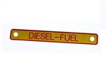 Diesel Warning Decal - For Genuine Land Rover