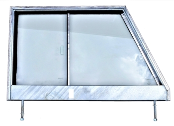 GLAZED Galvanised For Series 3 Door Top LH