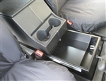 Cubby Box Sliding Locker for Land Rover Defender - By Mud Stuff - Additional 11 Litres of Storage Space
