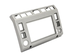 Mud Stuff Td5 Double Din Centre Dash Silver 02-06
