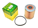 MANN Oil Filter - Fits 2.25 Petrol and 2.25 Diesel - Fits From 1964 Onwards For Land Rover Series