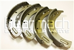 Front Brake Shoes for Land Rover Series 2, 2A & 3 - For 88' SWB (from 1980) and 109' LWB