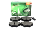 REAR BRAKE PADS UNIBRAKES FOR DEFENDER 90 / DISCOVERY 1