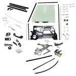 Build up kit of parts for RH front Push Button Door
