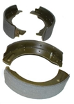 Front Brake Shoes Set - For Land Rover Series - 6 Cylinder and V8