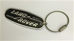 Genuine Key Ring - Heritage Style For Land Rover, Land Rover Oval - Heavy Duty Metal Key Ring