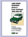 Parts Catalogue for Land Rover Discovery - For Vehicles from 1998-2003 (May)