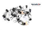 Terrafirma 30mm Concentric wheel Spacers For Defender & Discovery 1