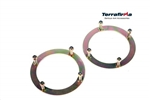 TERRAFIRMA Securing Rings for Front Shock Absorber Turret (HEAVY DUTY) PAIR