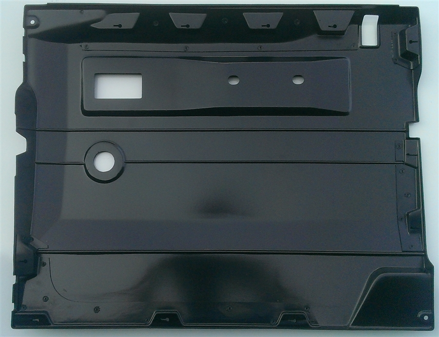 sc 1 st  SP 4x4 & Def LH Black Front Door Card - Manual Window
