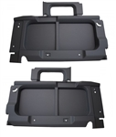 Def 90 Interior Surround trim Set (DARK GREY) No Cut Outs
