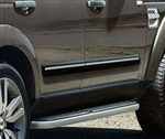 Genuine Land Rover Side Moulding in Black with Chrome Insert for Discovery 3 and 4