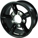 Black Challenger Alloy 16""