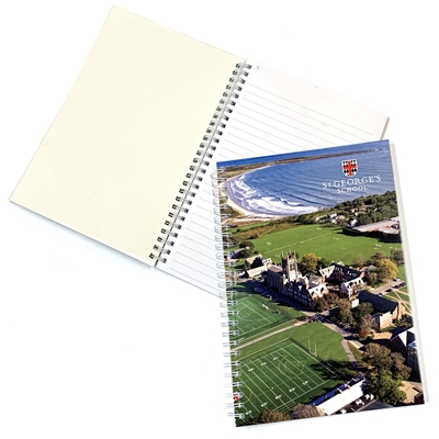 Campus View Notebook - 6x9""
