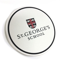 Ceramic Coaster with School Logo
