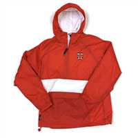 Charles River 1/4 zip jacket with School Logo