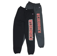 Champion Sweatpants with large text