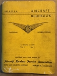 Vintage 1959 ASDA Aircraft Bluebook Price Digest Booklet Vol. 1 No. 1 (used book)