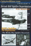 British RAF Spitfire Supermarine Fighter WWII DVD