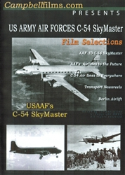 US Army Air Forces C-54 SkyMaster WWII Korea DVD
