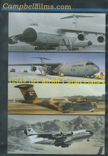 usaf jet airlift cargo planes c5 a c 141 c 17 dvd
