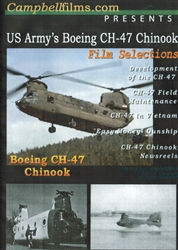 US Army Boeing CH-47 Chinook Helicopter DVD