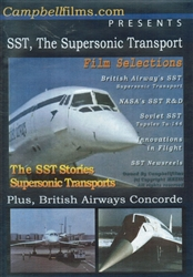 The SST - Supersonic Transport Concorde TU-144 DVD