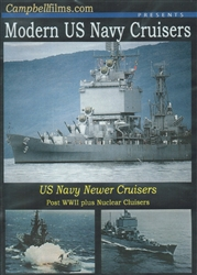 Modern US Navy Cruisers DVD