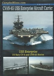 USS Enterprise Aircraft Carrier CV-6 CVN-65 DVD