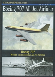 Boeing 707 All Jet Airliner DVD