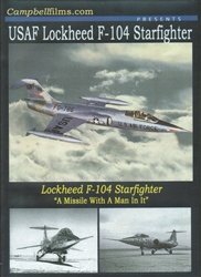 USAF Lockheed F-104 Starfighter DVD