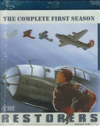 The Restorers Season 1 - Aircraft Restoration - 3-Blu-ray disc Box Set