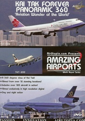 Kai Tak Forever Panoramic 360 747-400 747-200 MD11 DVD