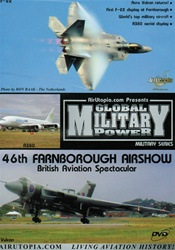 46th Farnborough Air Show F-22 Vulcan Typhoon F-16 DVD