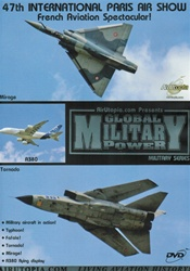 47th International Paris Air Show Mirage Tornado DVD