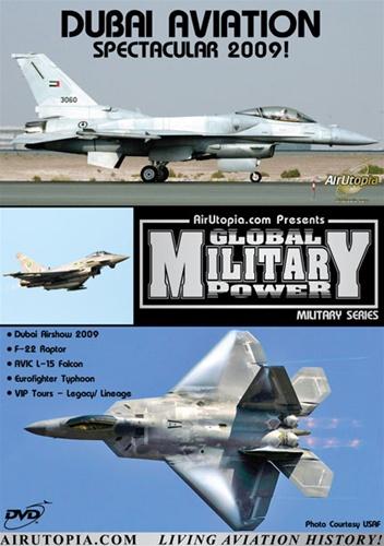 Dubai Airshow 2009 F-22 AVIC L-15 Typhoon DVD