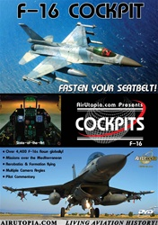 F-16 Flying Falcon Cockpit and Missions DVD