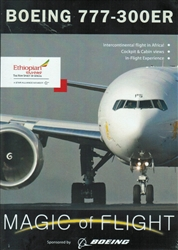 Boeing 777-300ER Magic of Flight Ethiopian Airlines DVD