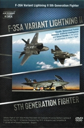 F-35A Variant Lightning II 5th Generation Fighter DVD