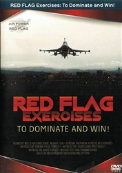 Red Flag Exercises Filmed at Nellis AFB Nevada DVD