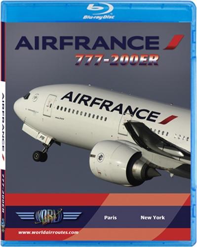 Air France 777-200ER Cockpit Blu-ray disc